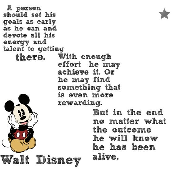 Disney's Wise Words