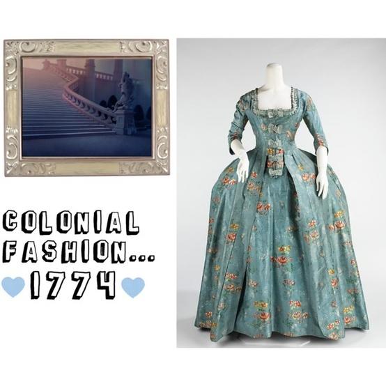 Colonial Girls Fashion
