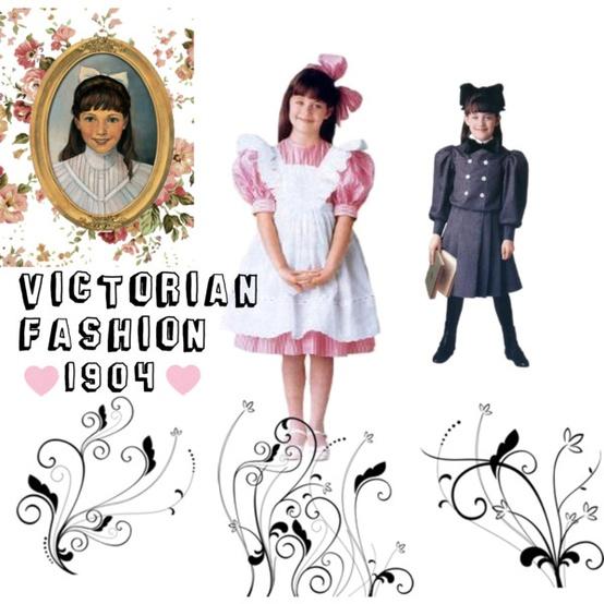 1900's Girls Fashion