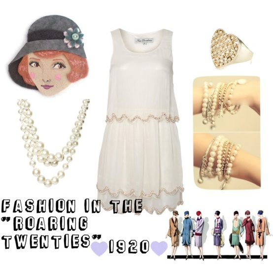 1920's Girls Fashion