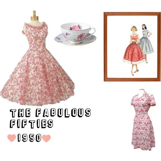 1950's Girls Fashion