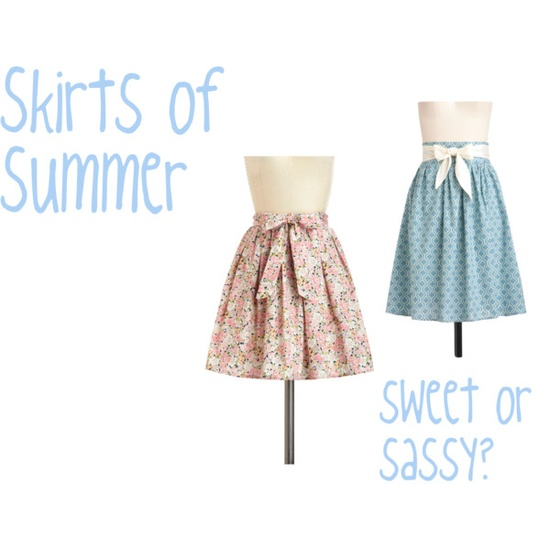 Skirts of summer