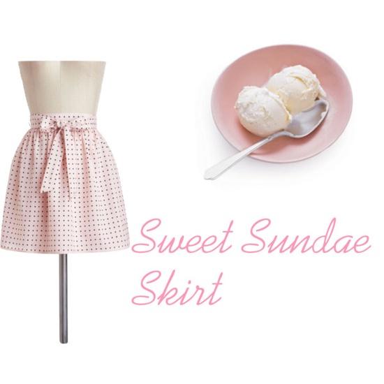 Sundae skirt