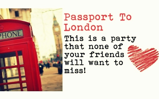 Passport To London Party