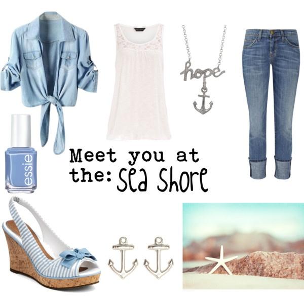Meet you at the sea shore